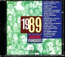 LES PLUS BELLES CHANSONS FRANCAISES - 1989 - CD COMPILATION ATLAS