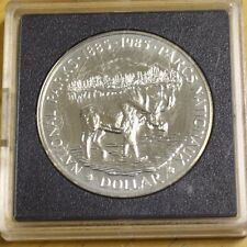 1985 Canada Dollar Silver Brilliant National Parks