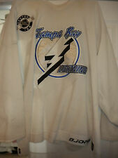 NHL TAMPA BAY LIGHTENING RADEK SMOLENAK GAME WORN HOCKEY JERSEY