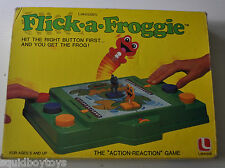 FLICK A FROGGIE Lakeside vintage GAME 1970s