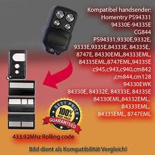 Kompatibel Handsender, Ersatz für 433,92Mhz 84330EML,84333EML,84335EML