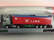 Herpa 1:87  Volvo FH EKB Kieserling Containersattelzug 158657 K Line Kline