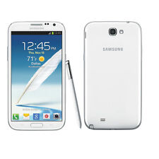 "Unlocked 5.5"" White Samsung Galaxy Note 2 3G Android GSM Smartphone 16GB 8MP @"