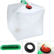 20L Collapsible Water Container Clear Military Water Carrier Jug For Camping