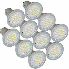 10 Energy Saving LED GU10 3W Light Bulbs 4200K Cool White Replaces 35W Halogen
