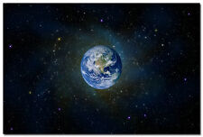 The Planet Earth Space Universe Art Wall Silk Poster 24x36 inch