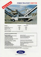 Feuillet FORD TRANSIT Maxi Driver Chassis-cabine de 1993