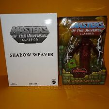 2011 MATTEL MOTU HE-MAN Masters of the universe classics shadow weaver MOC carte