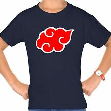 Cosplay Costume for Naruto Itachi Uchiha Akatsuki t-shirt short sleeve
