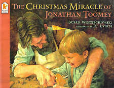 The Christmas Miracle of Jonathan Toomey-ExLibrary