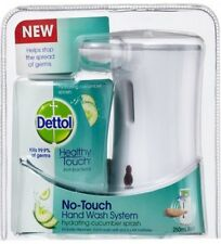 PACK OF 2 Dettol No-Touch Hand Wash System Hydrating CUCUMBER SPLASH