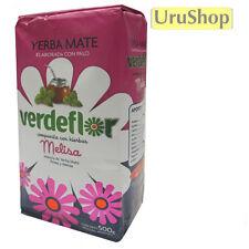 Y232 YERBA MATE VERDEFLOR 500G MINT & MELISA LEMON BALM LOOSE LEAF FLAVOURED TEA