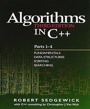 Algorithms in C++ Pts. 1-4 : Fundamentals, Data Structure, Sorting, Searching...
