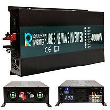 4000W 12V/24V/48V DC to 240V 50HZ Off Grid Pure Sine Wave Solar Power Inverter