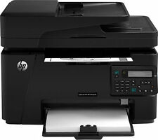 HP LaserJet Pro MFP M127fn Black-and-White All-in-One Laser Printer - Brand New