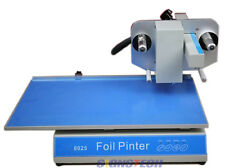 250mmx57mm Flatbed Hot Foil Printer Stamping Machine Foil Printing