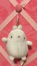 A Very Cute Plush Molang Cell Phone Charm
