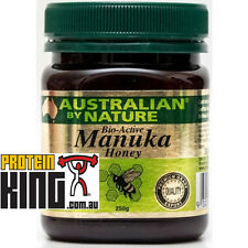 AUSTRALIAN BY NATURE 250G BIO-ACTIVE 20+ MANUKA HONEY antibacterial comvita abn