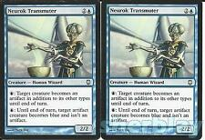 Magic the Gathering TCG DARK STEEL 2X Neurok Transmuter Human Wizard Blue 27