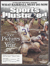 """Sports Illustrated 12/24/2007 """"2007 Pictures of the Year"""" NAIA Championship"""