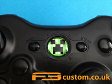 Custom XBOX 360 * VIGNE VIERGE * logo guide bouton f3custom.co.uk