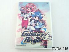 Galaxy Angel Z - Vol. 1: Back for Seconds (DVD, 2004) Used, US Bandai R1 Release