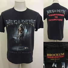 VTG 1992 Megadeth Countdown To Extinction Men's T Shirt L M 90s Metal Tour Faded