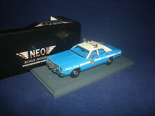 Dodge Monaco New York Police 1978  NEO 43516   1:43