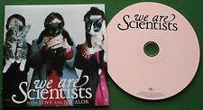We Are Scientists With Love and Squalor inc Cash Cow & Lousy Reputation + CD
