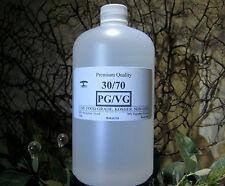 30/70 PG-VG MIX PROPYLENE GLYCOL/VEGETABLE GLYCERIN 1 Qt. DIY JUICE LIQUID BASE