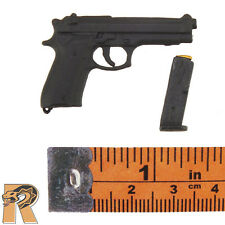 BR Criminal Crew - Beretta Pistol w/ Mag - 1/6 Scale - Craftone Action Figures