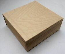 Pine wooden square box ideal for e-cigarette liquid storage DD149 vape smoking