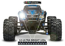 12 LED Light Kit for Traxxas X-maxx, E-Revo, Mamba, Summit, HPI Savage and more!