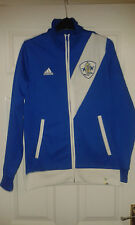 Mens Jacket - Praia Do Samba FC - Adidas - Brazil Club - Blue & White - Size S