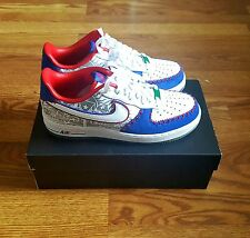 NIKE AIR FORCE 1 LOW CMFT PRM LIMITED EDITION/ PUERTO RICO / SZ, 8.5