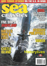 Sea Classics Aug.2002 Admiral Sims Philippines Jutland Bloody Savo Castle Island
