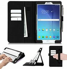 Samsung Galaxy Tab E 8.0 Case, FYY[Super Functional Series] Premium PU Leather