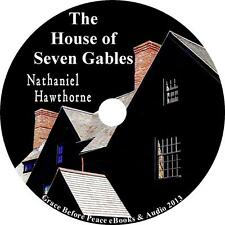 The House of the Seven Gables, Nathaniel Hawthorne Classic Audiobook on 1 MP3 CD