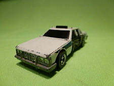HOTWHEELS STATE POLICE CRASH CAR 1/65 - GOOD CONDITION