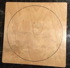 "6"" Circle wooden die fits Accucut Ellison Studio Machines"