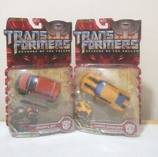 TransFormers Movie 09 MudFlap Trax Cannon BumbleBee Deluxe G1 lot ROTF MOSC AOE