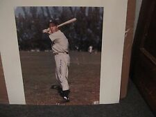 Joe DiMaggio: 16x20 color photo Auto Look