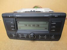 Skoda Auto Octavia Stream Stereo CD Player with CODE 1Z0035161B 2004-2009