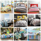 Sheridan/ Logan and Mason/ Kas Quilt Doona Cover Set Double Queen King Size bed