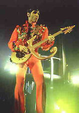 PRINCE POSTCARD UK Symbol Guitar Official 1995 Pyramid Posters Mint POST FREE*