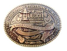 2009 Houston Livestock Show & Rodeo Belt Buckle