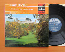SFL 14083 Beethoven Symphony no. 4 & 5 Konwitschny 1961 Fontana Stereo EXCELLENT