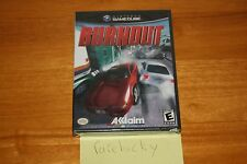 Burnout (Nintendo Gamecube) - NEW SEALED Y-FOLD, VERY RARE!