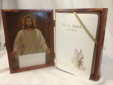 HOLY BIBLE PRINCE OF PEACE Protestant Edit. 1975 Cedar Box Cascade Lodge 297 IAW