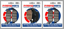 Honda CB 750 N, F, Seven Fifty 92-95 Front & Rear Brake Pads Full Set (3 Pairs)